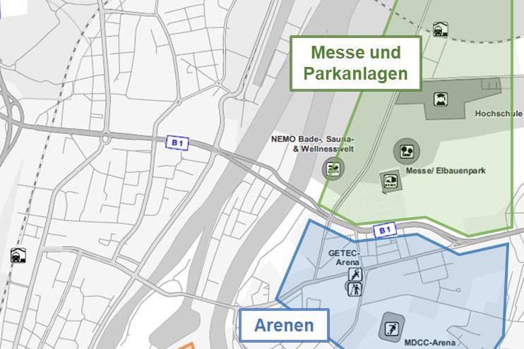 Untersuchung Verkehrsführung Magdeburg