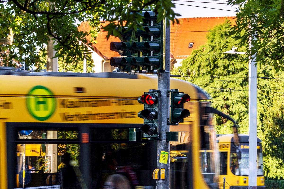 Verkehrstechnik / LSA-Planung – Übersicht Referenzen – Albertplatz Dresden