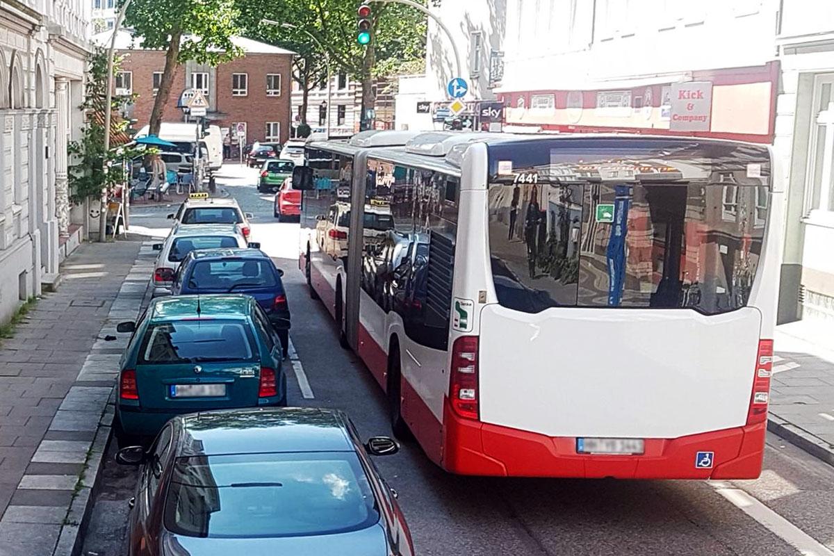 Lärmaktionsplan Hamburg (Klausstraße)