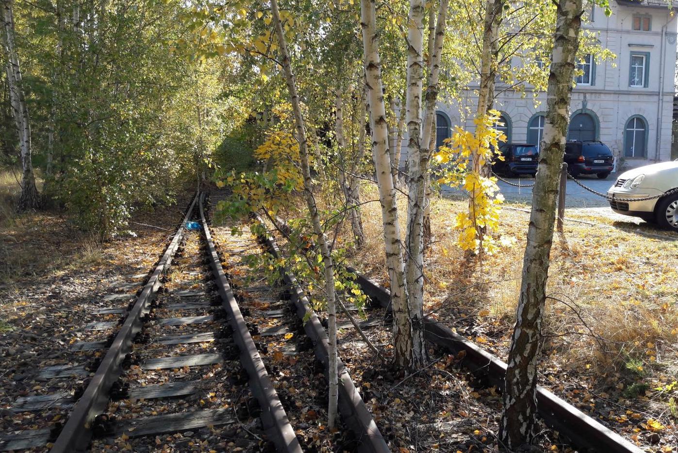 Zustand Bahnanlage