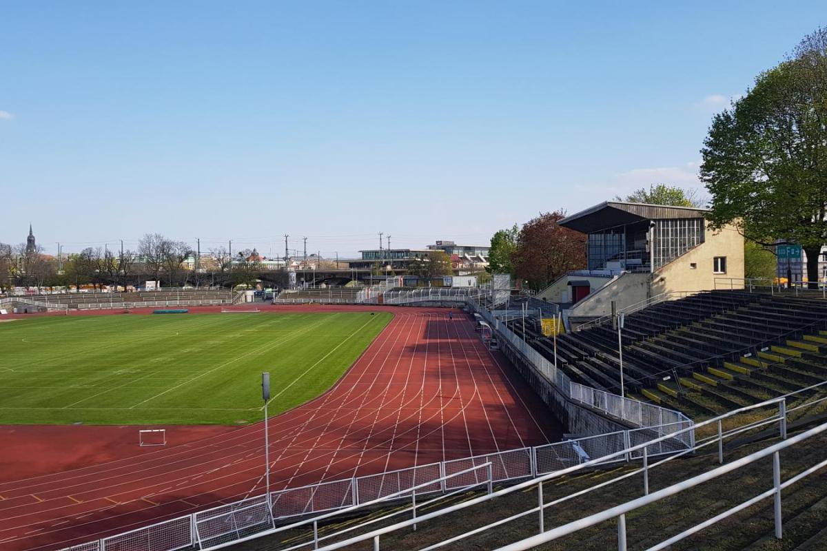 Ansicht Heinz-Steyer-Stadion