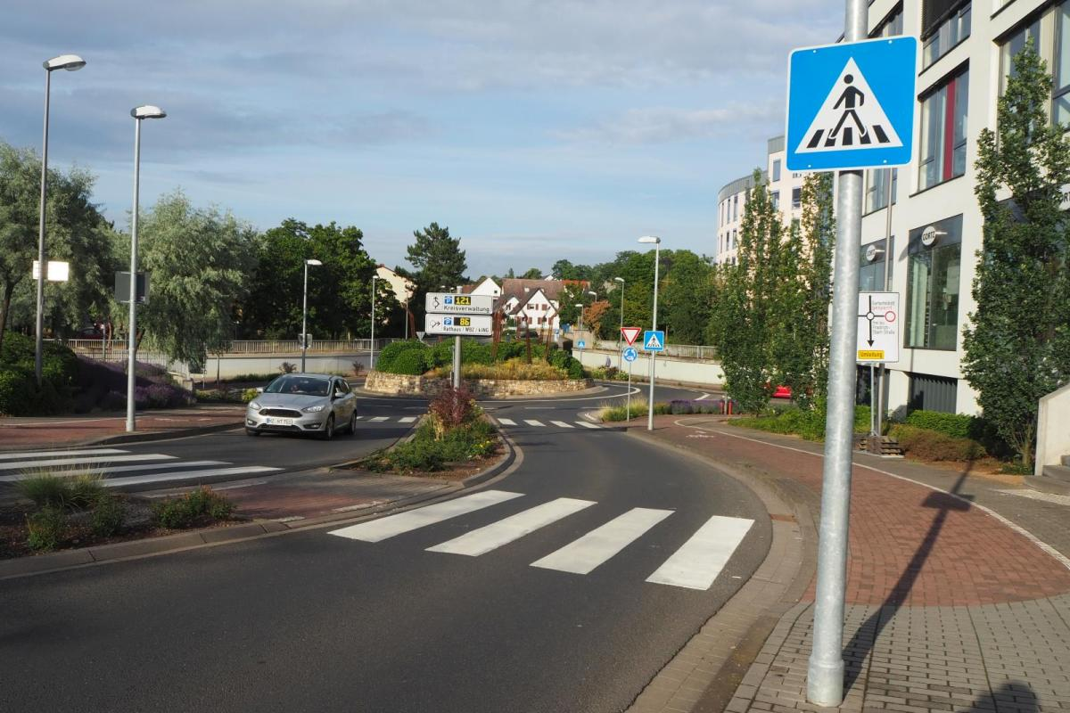 Kreisverkehr Ingelheim