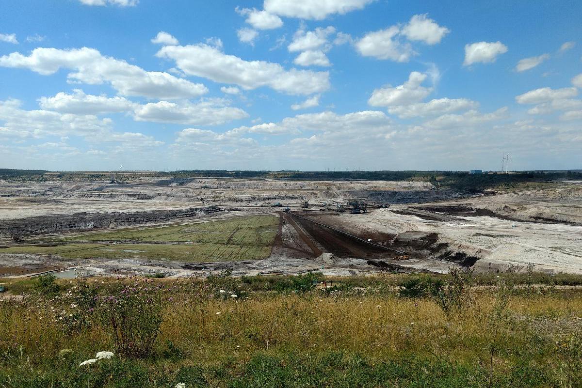 Bergbaufolgelandschaft Profen 2020