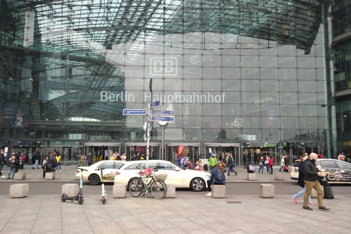 Europaplatz Berlin 2020