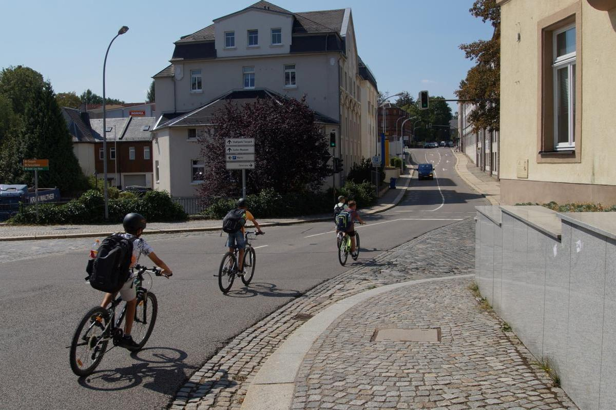 Radfahren in Limbach-Oberfrohna