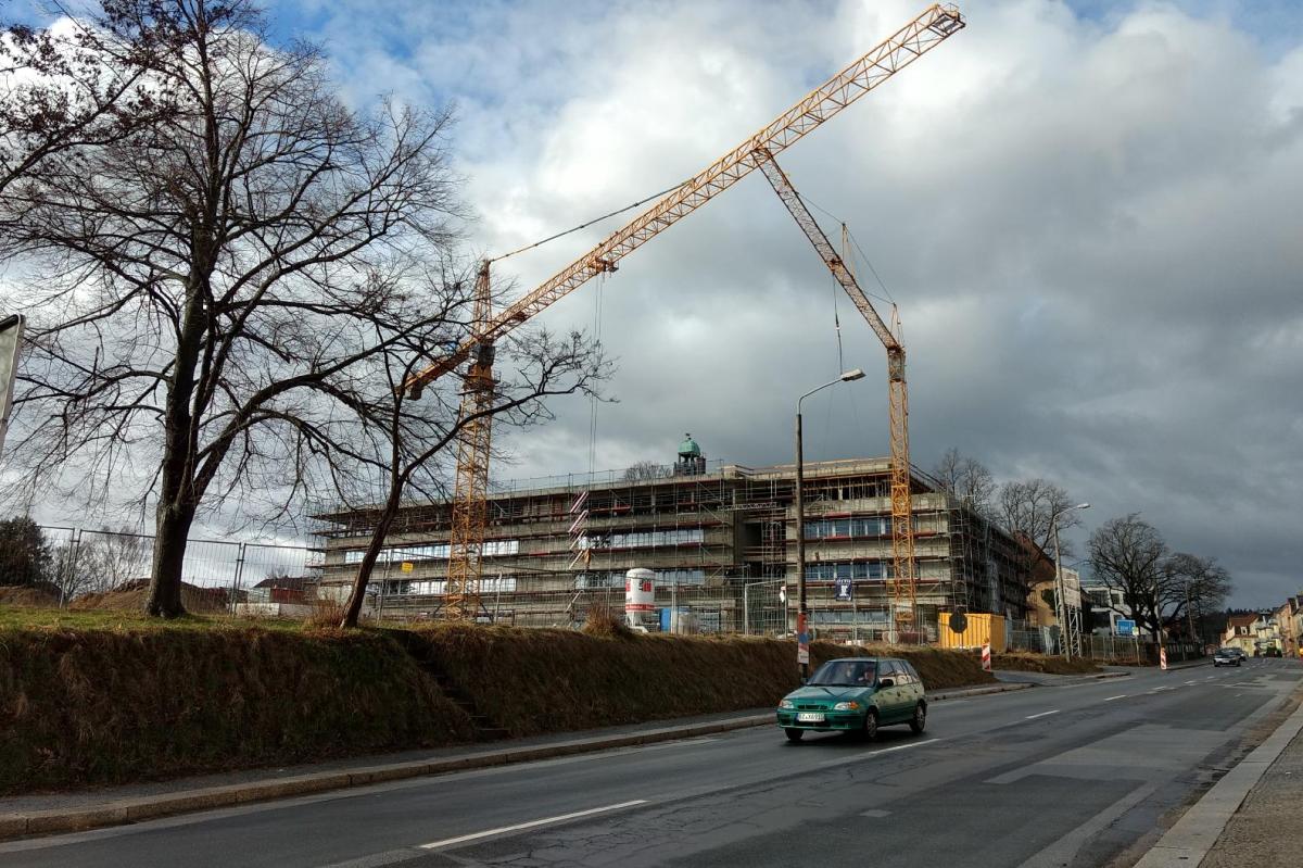 Baugeschehen im Gründerzeitviertel